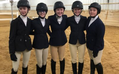 New IEA team at Country Ridge participates in their first show.